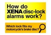 Cum aleg alarma XENA pentru motocicleta mea
