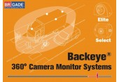 Asistenta la Parcare BRIGADE BACKEYE  360° - 4 camere video 1 singura imagine