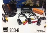 Asistenta la Parcare AUTOWATCH ECO-6 cu 3 Camere Video si Monitor LCD 3.5""