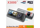 Camera Video Auto Duala X3000 cu Inregistrare HD
