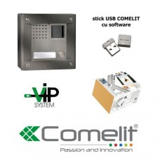 Videointerfon IP Wireless Fara Fir COMELIT VIP-S 8504